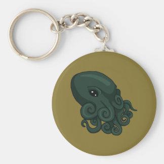 Cthulu Logo Keychain