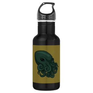 Cthulu Logo Stainless Steel Water Bottle
