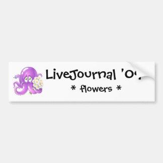 cthulupus, LiveJournal '09 Pegatina Para Auto