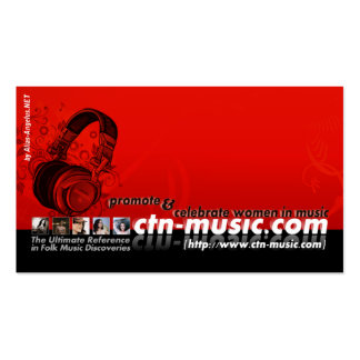 CTN- 2008b Profile card Business Card