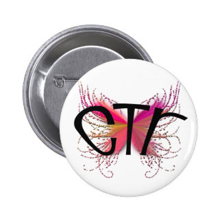 CTR Butterfly 2 Inch Round Button