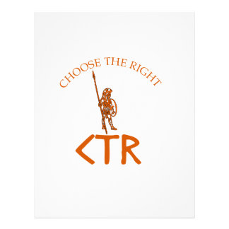 CTR CHOOSE THE RIGHT LDS BYU LETTERHEAD