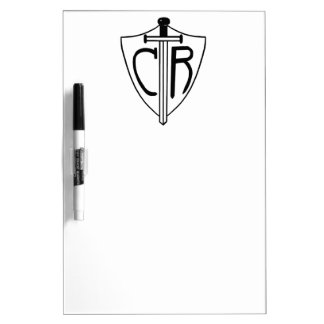 CTR Choose the Right Sword and Shield Dry Erase Boards
