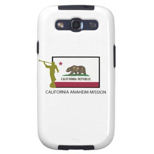 CTR DE LA MISIÓN LDS DE CALIFORNIA ANAHEIM SAMSUNG GALAXY S3 FUNDAS