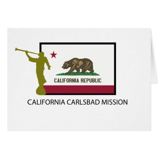 CTR DE LA MISIÓN LDS DE CALIFORNIA CARLSBAD FELICITACION