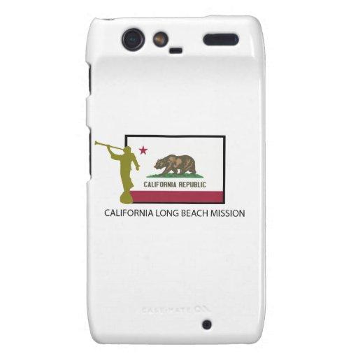 CTR DE LA MISIÓN LDS DE CALIFORNIA LONG BEACH MOTOROLA DROID RAZR CARCASA