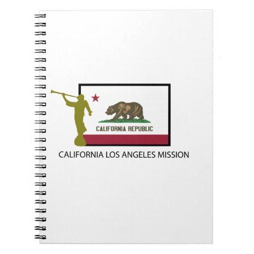 CTR DE LA MISIÓN LDS DE CALIFORNIA LOS ÁNGELES CUADERNO