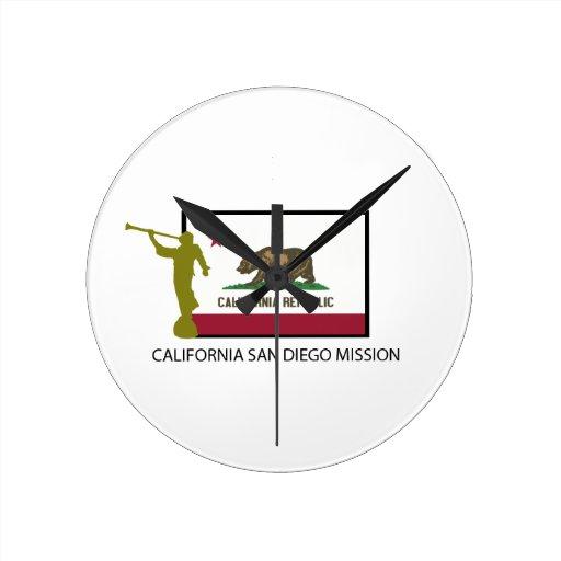 CTR DE LA MISIÓN LDS DE CALIFORNIA SAN DIEGO RELOJES