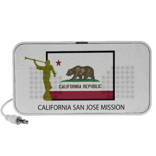 CTR DE LA MISIÓN LDS DE CALIFORNIA SAN JOSE MINI ALTAVOZ