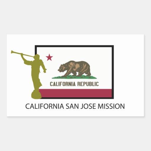 CTR DE LA MISIÓN LDS DE CALIFORNIA SAN JOSE RECTANGULAR ALTAVOCES