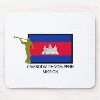 CTR DE LA MISIÓN LDS DE CAMBOYA PHNOM PENH MOUSEPAD