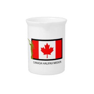 CTR DE LA MISIÓN LDS DE CANADÁ HALIFAX JARRON