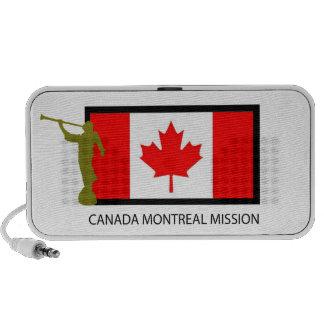 CTR DE LA MISIÓN LDS DE CANADÁ MONTREAL PC ALTAVOCES