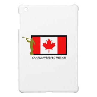 CTR DE LA MISIÓN LDS DE CANADÁ WINNIPEG iPad MINI CARCASA