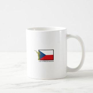 CTR DE LA MISIÓN LDS DE CHECO PRAGA TAZA DE CAFÉ