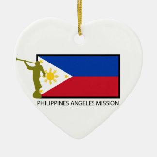 CTR DE LA MISIÓN LDS DE FILIPINAS ÁNGELES ORNAMENTOS PARA REYES MAGOS