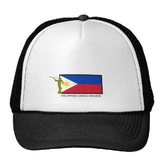 CTR DE LA MISIÓN LDS DE FILIPINAS DAVAO GORRO DE CAMIONERO