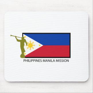 CTR DE LA MISIÓN LDS DE FILIPINAS MANILA ALFOMBRILLAS DE RATÓN