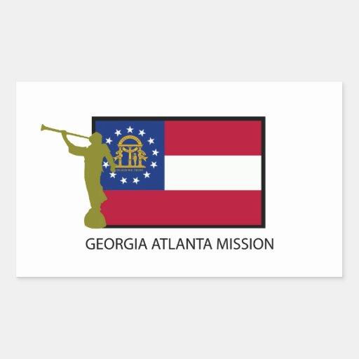 CTR DE LA MISIÓN LDS DE GEORGIA ATLANTA RECTANGULAR ALTAVOZ