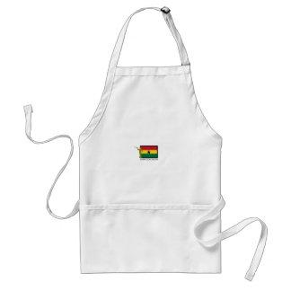 CTR DE LA MISIÓN LDS DE GHANA ACCRA DELANTAL