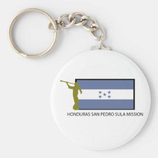 CTR DE LA MISIÓN LDS DE HONDURAS SAN PEDRO SULA LLAVERO PERSONALIZADO