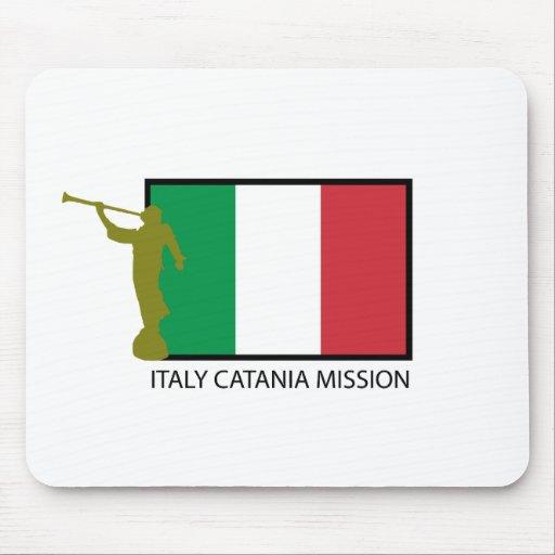 CTR DE LA MISIÓN LDS DE ITALIA CATANIA ALFOMBRILLAS DE RATON
