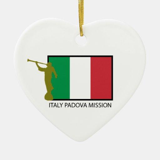 CTR DE LA MISIÓN LDS DE ITALIA PADUA ORNAMENTOS PARA REYES MAGOS