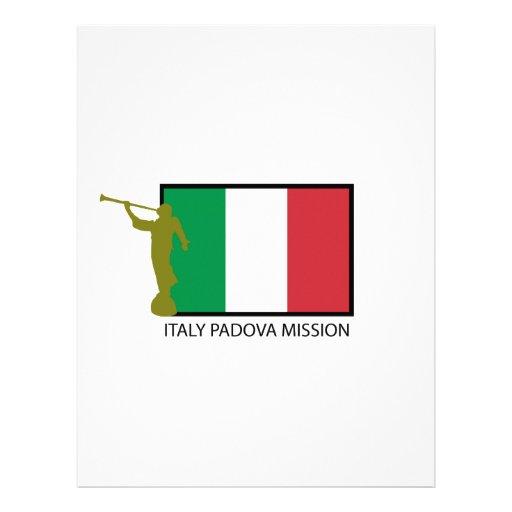 CTR DE LA MISIÓN LDS DE ITALIA PADUA MEMBRETE A DISEÑO
