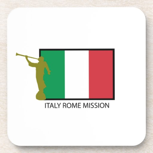 CTR DE LA MISIÓN LDS DE ITALIA ROMA POSAVASOS
