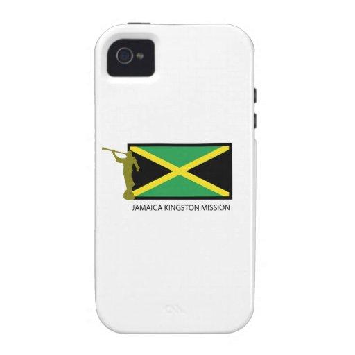 CTR DE LA MISIÓN LDS DE JAMAICA KINGSTON VIBE iPhone 4 CARCASA