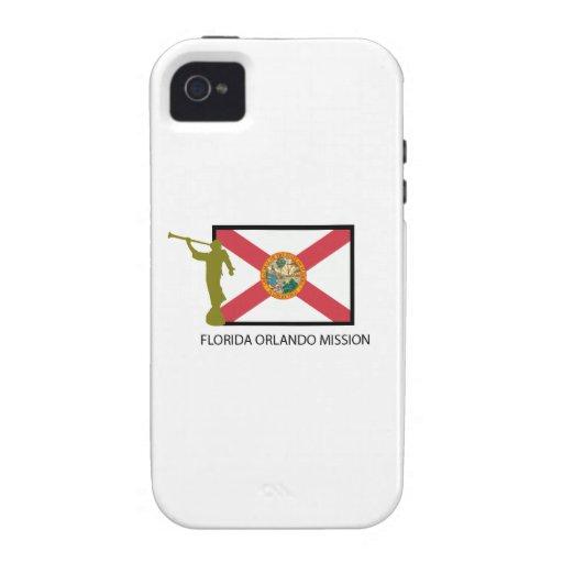 CTR DE LA MISIÓN LDS DE LA FLORIDA ORLANDO VIBE iPhone 4 FUNDAS