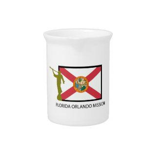 CTR DE LA MISIÓN LDS DE LA FLORIDA ORLANDO JARRAS DE BEBER
