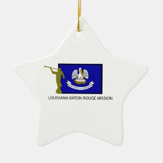 CTR DE LA MISIÓN LDS DE LUISIANA BATON ROUGE ORNAMENTOS DE REYES