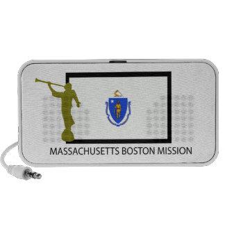 CTR DE LA MISIÓN LDS DE MASSACHUSETTS BOSTON iPod ALTAVOZ