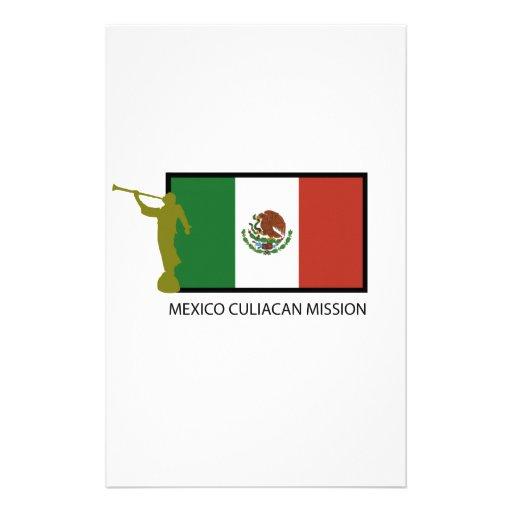 CTR DE LA MISIÓN LDS DE MÉXICO CULIACAN  PAPELERIA DE DISEÑO