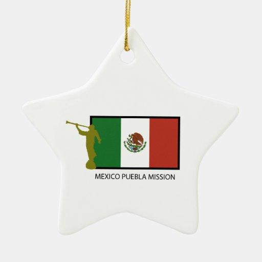 CTR DE LA MISIÓN LDS DE MÉXICO PUEBLA ADORNO PARA REYES