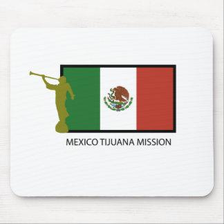 CTR DE LA MISIÓN LDS DE MÉXICO TIJUANA TAPETE DE RATONES