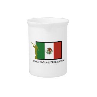 CTR DE LA MISIÓN LDS DE MÉXICO TUXTLA GUTIERREZ JARRAS PARA BEBIDA