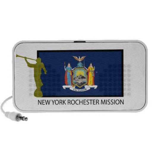 CTR DE LA MISIÓN LDS DE NUEVA YORK ROCHESTER ALTAVOZ DE VIAJAR
