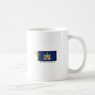 CTR DE LA MISIÓN LDS DE NUEVA YORK UTICA TAZA DE CAFÉ