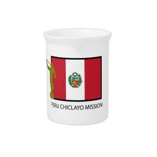 CTR DE LA MISIÓN LDS DE PERÚ CHICLAYO JARRAS PARA BEBIDA