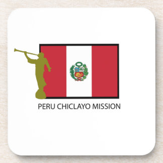 CTR DE LA MISIÓN LDS DE PERÚ CHICLAYO POSAVASOS DE BEBIDA
