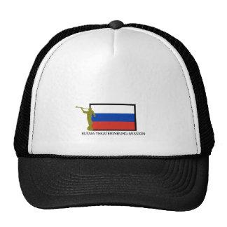 CTR DE LA MISIÓN LDS DE RUSIA EKATERIMBURGO GORROS BORDADOS