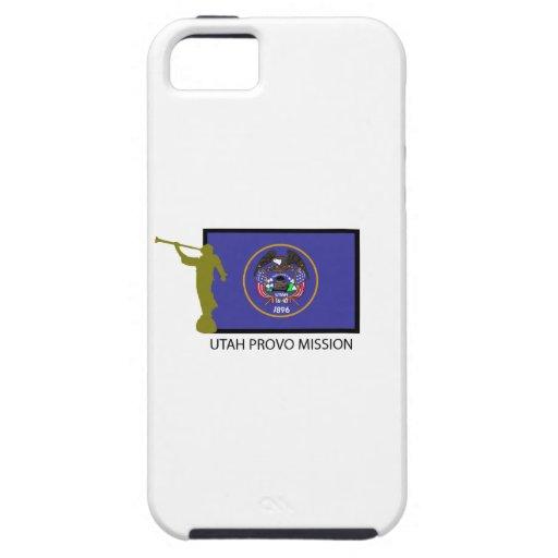 CTR DE LA MISIÓN LDS DE UTAH PROVO iPhone 5 CARCASA