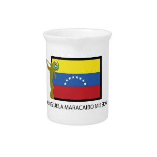 CTR DE LA MISIÓN LDS DE VENEZUELA VALENCIA JARRA PARA BEBIDA