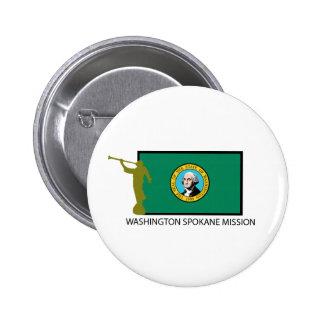CTR DE LA MISIÓN LDS DE WASHINGTON SPOKANE PIN