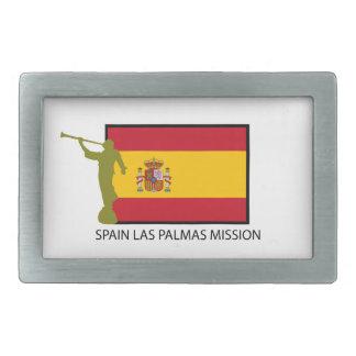 CTR DE LA MISIÓN LDS DEL LAS PALMAS DE ESPAÑA HEBILLAS DE CINTURON
