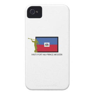 CTR DE LA MISIÓN LDS DEL PORT-AU-PRINCE DE HAITÍ iPhone 4 FUNDA