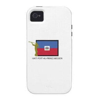 CTR DE LA MISIÓN LDS DEL PORT-AU-PRINCE DE HAITÍ VIBE iPhone 4 FUNDA