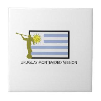 CTR DE URUGUAY MONTEVIDEO LDS AZULEJO CUADRADO PEQUEÑO